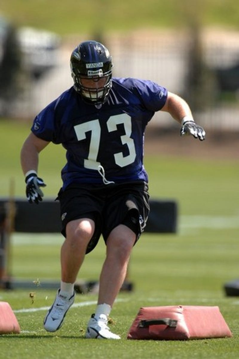 Apparently Ravens fensive Tackle Marshal Yanda Is Also
