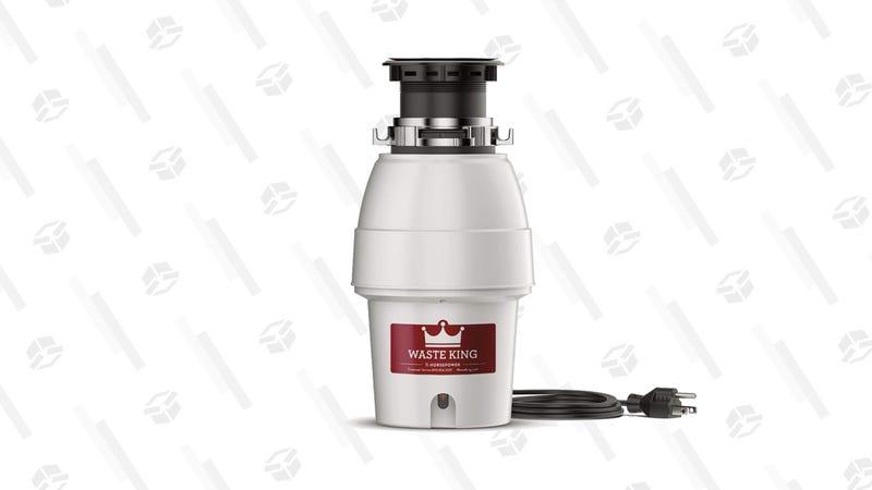 Waste King Legend Series 1/2 HP Garbage Disposal | $57 | Amazon