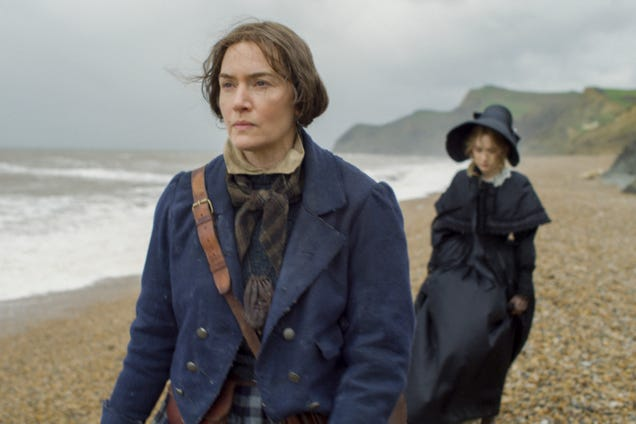 Kate Winslet and Saoirse Ronan run hot and cold in the period romance Ammonite