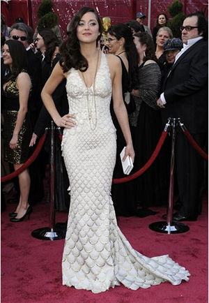 """Illustration for article titled """"Fishy"""" Is Fabulous: Oscar Fashion 2008"""