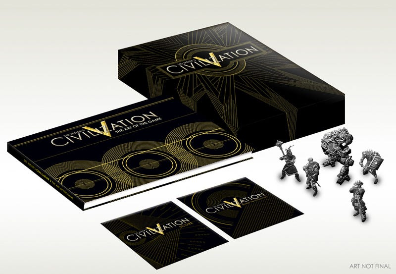 Illustration for article titled Civilization V Develops Snazzy $100 Edition