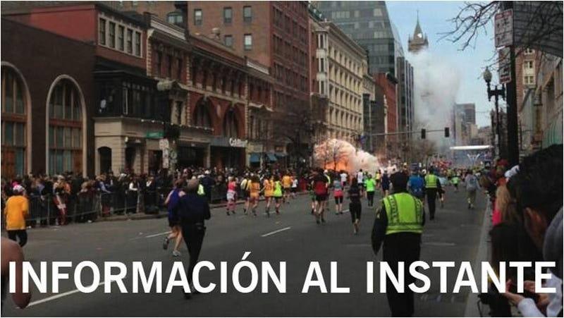 Illustration for article titled La tragedia del maratón de Boston sacó lo mejor de las redes sociales