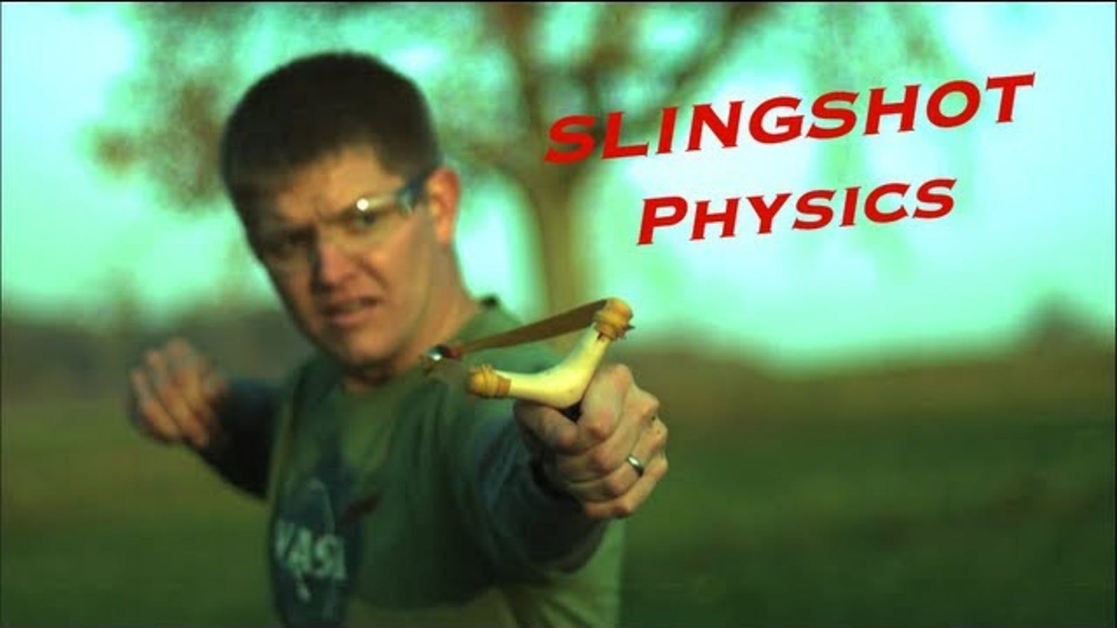 The Physics Of Slingshots Explains Why Theyre So Destructive And Easy Lawnmower Awesome