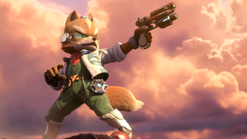 Oh God, Fox Won An Early Super Smash Bros  Ultimate Tournament