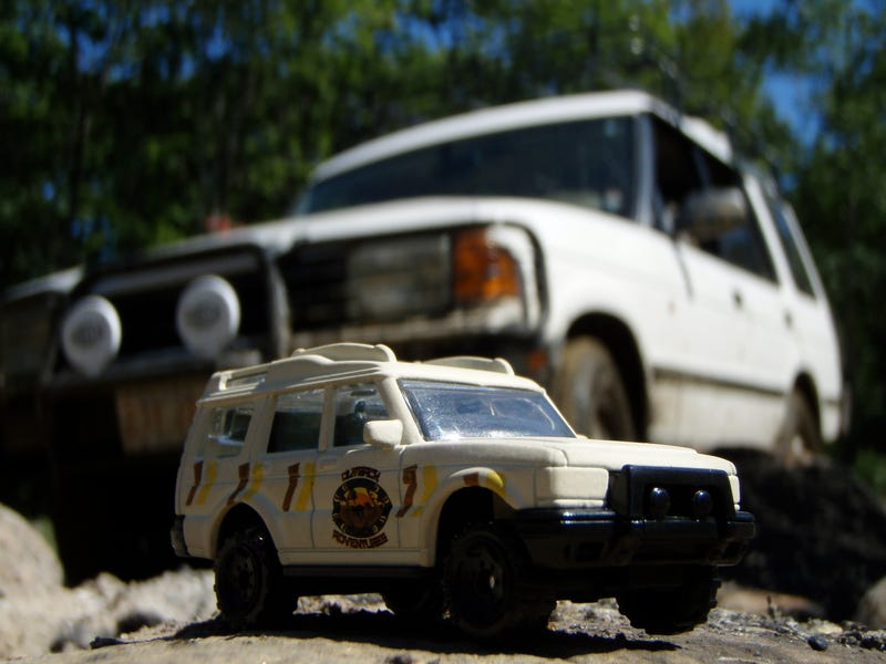 Illustration for article titled Die-Cast Discovery Goes Off-Roading With Its Full-Size Likeness