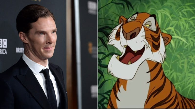 Illustration for article titled Benedict Cumberbatch to Voice Villainous Shere Khan in The Jungle Book