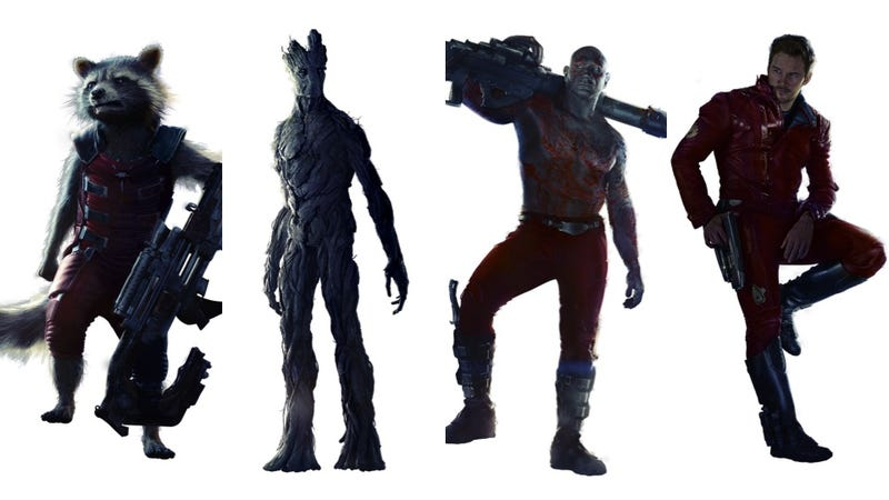 Illustration for article titled High-Res Guardians Of The Galaxy Glamour Shots Are Sexy As Hell