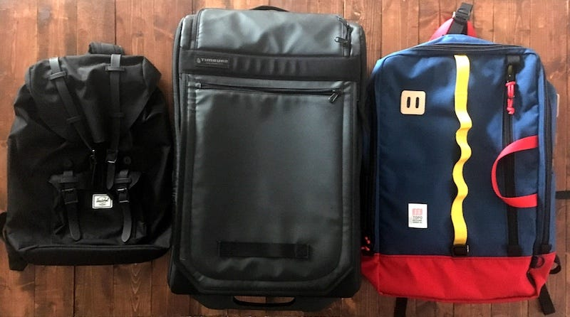 4589879914a1 How to Choose Between a Backpack and a Suitcase for Travel
