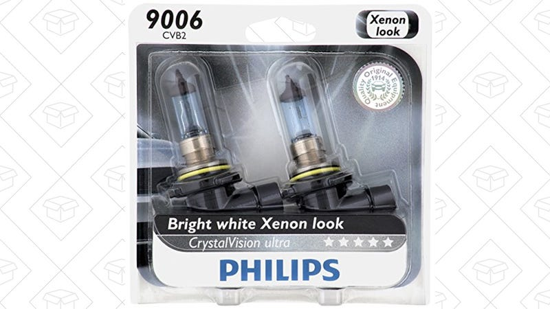 Philips CrystalVision Headlight Bulb 2-Packs, $6 off at checkout