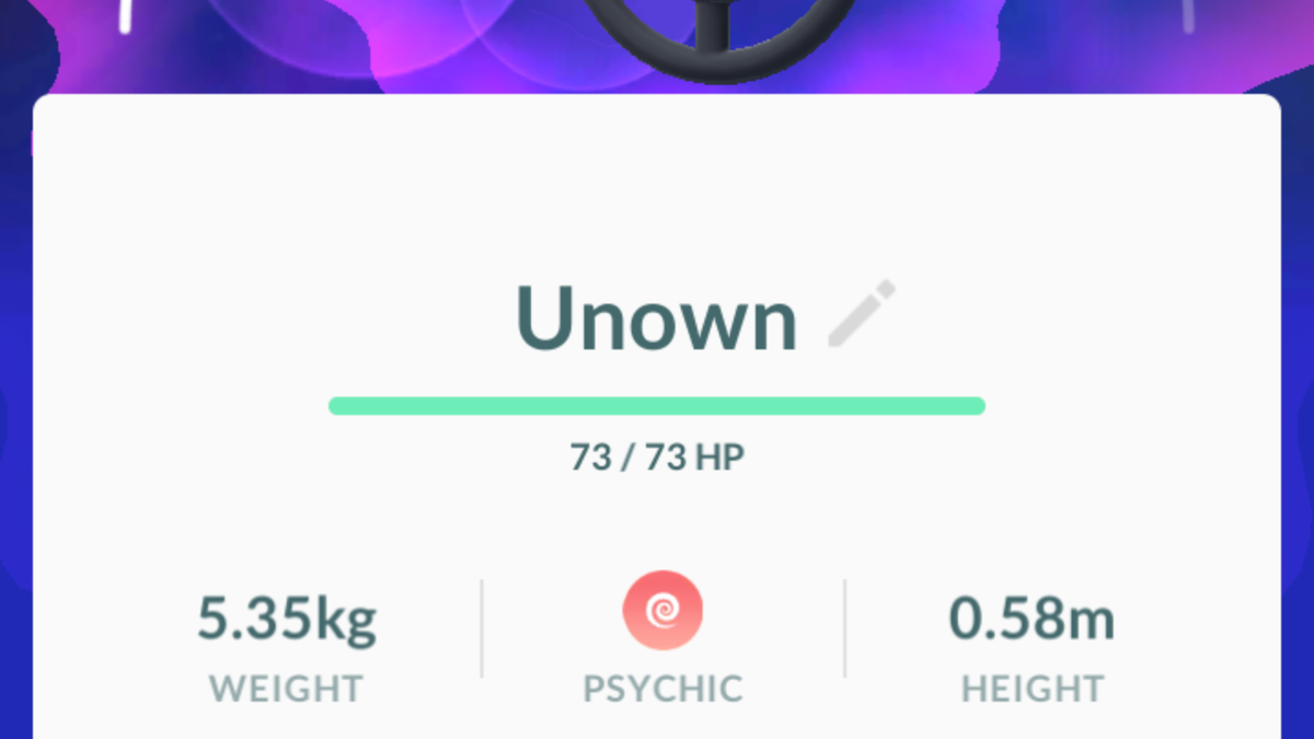 Why Pokémon Go Players Are So Hyped About Unown