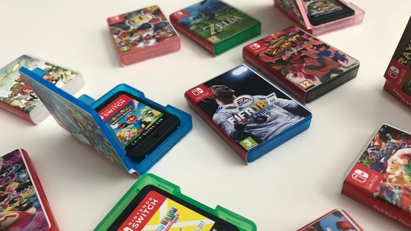 Illustration for article titled The Tiniest Lil' Nintendo Switch Game Cases