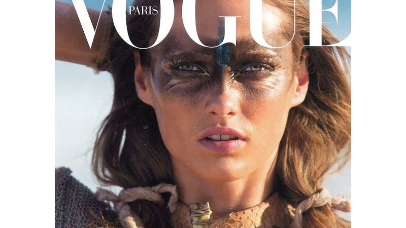 Illustration for article titled Can We Talk About How Incredibly Hideous The New French Vogue Cover Is?