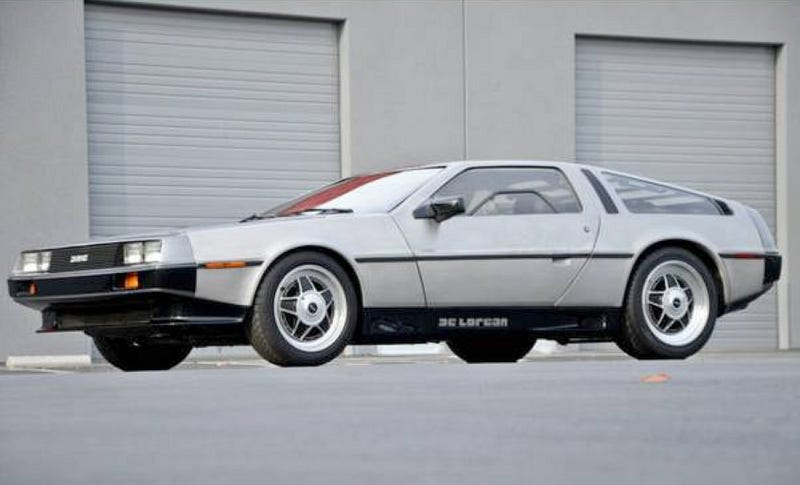 Illustration for article titled For $37,500, This Delorean Should Make Marty McFly