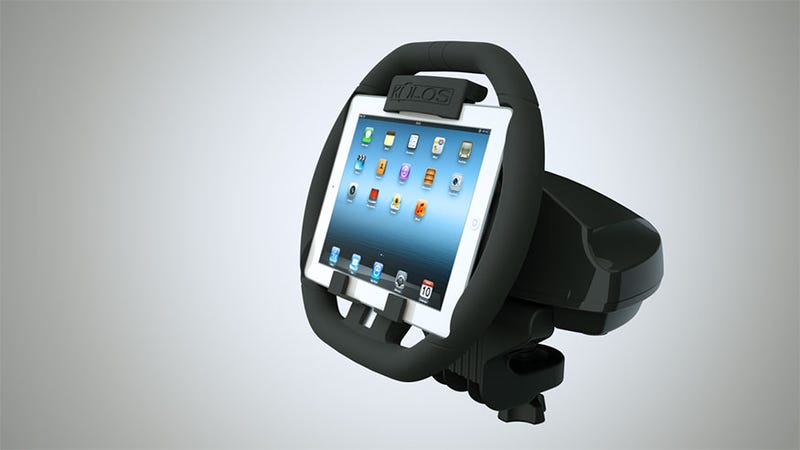Illustration for article titled If Only Real Steering Wheels Held iPads