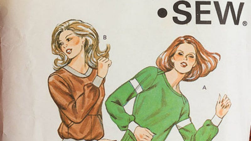 Illustration for article titled Vintage Sewing Patterns With Funny Captions Will Make You Crack Up