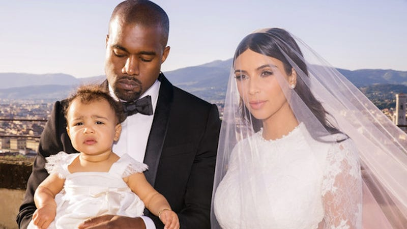Illustration for article titled New Kimye Wedding Photos Are Rationed Out