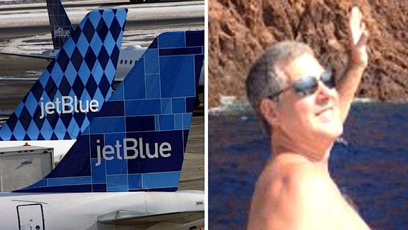 Illustration for article titled JetBlue Passenger Accused of Groping Sleeping Woman's Thigh Defends Himself: 'It's Not Like I Grabbed Your Tits'