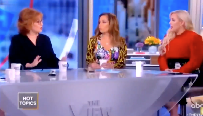 Illustration for article titled Black Twitter Gathers Meghan McCain After She Disrespects Joy Behar, Patron Saint of Decorum, on The View