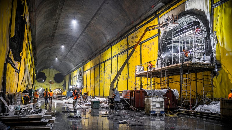 The East Side Access project, highlighted by the NYT as particularly expensive, photographed in 2014. Photo: MTA