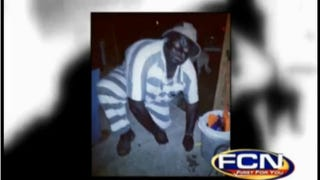 Georgia deputy sheriff dressed in blackface and inmate stripesFirst Coast News screenshot