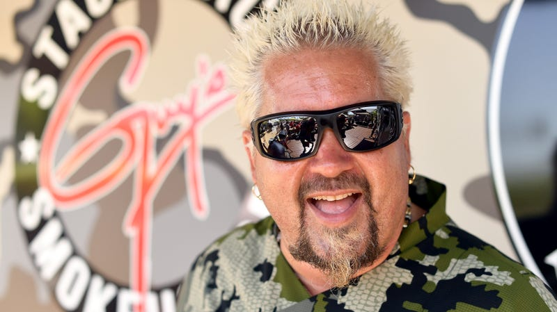 Illustration for article titled Guy Fieri's wife doesn't like his hair either