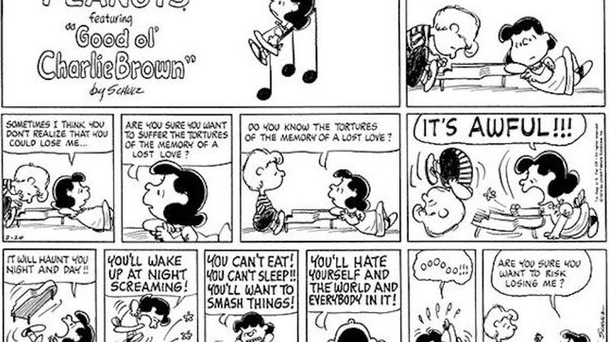 How Peanuts Used Lucy and Schroeder To Explore Dysfunctional