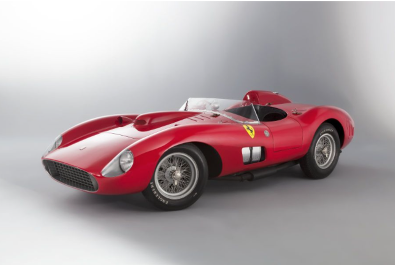A 1957 Ferrari With Racing History Deeper Than Its New Owneru0027s Pockets  Initially Took The Title For Most Expensive Car Ever Sold At An Auction On  Friday.