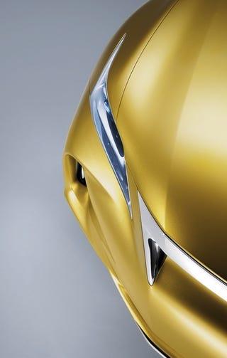 Illustration for article titled Lexus LF-Ch Concept: Premium. Hybrid. Sorta Small.