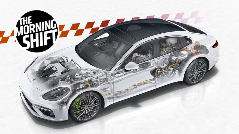 It's not a diesel, but it is a cool as hell Porsche powertrain. This is the super powerful hybrid Panamera.