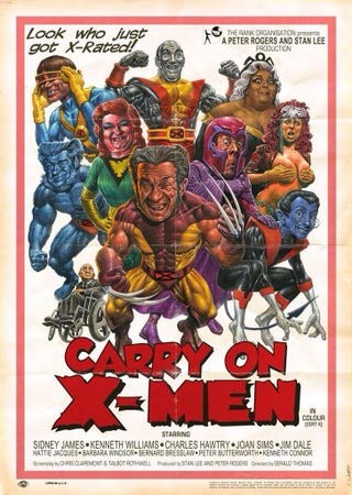 Illustration for article titled Carry On X-Men