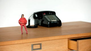 Illustration for article titled Tokyo's 3D printing photobooth lets you turn yourself into an action figure