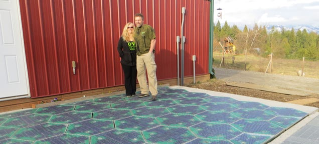 You Can Drive Over This Parking Lot Paved With Solar Panels