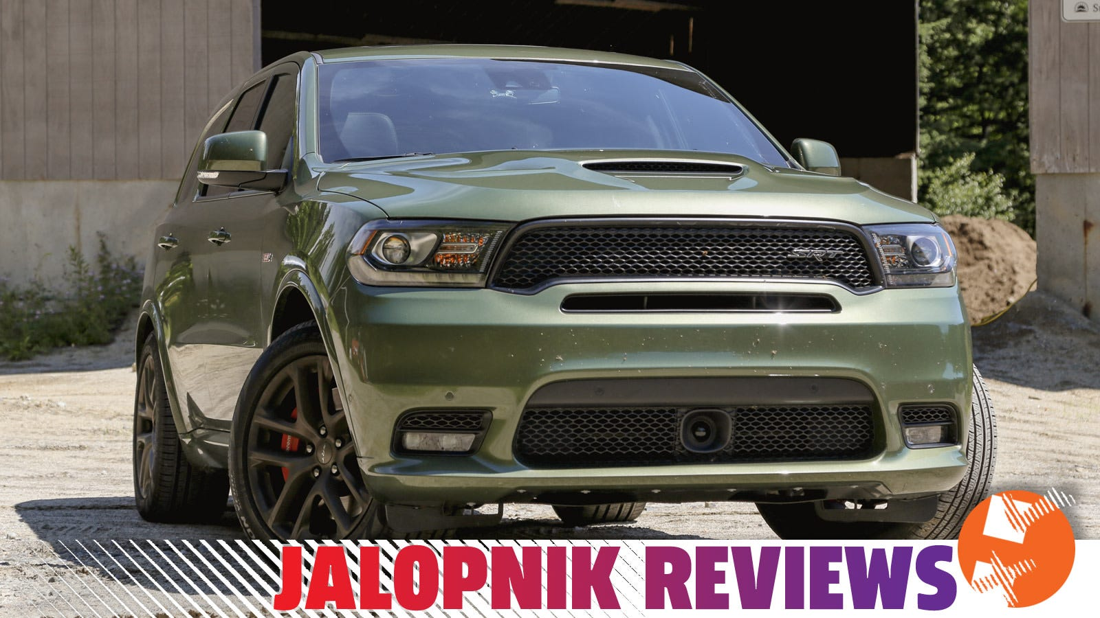 The 475-HP Dodge Durango SRT Is A Muscle Truck That's Ready To Haul