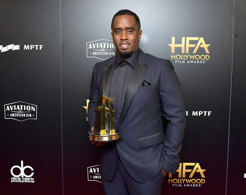 "Sean ""Diddy"" Combs after receiving an award during the 21st annual Hollywood Film Awards in Beverly Hills, Calif., on Nov. 5, 2017 (Neilson Barnard/Getty Images)"