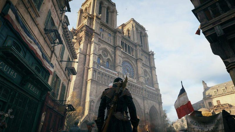 Illustration for article titled Steam Users Flood Assassin's Creed Unity With Positive Reviews Following Ubisoft's Notre-Dame Efforts
