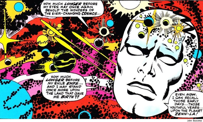 Illustration for article titled We could have had a Silver Surfer film scored by Paul McCartney