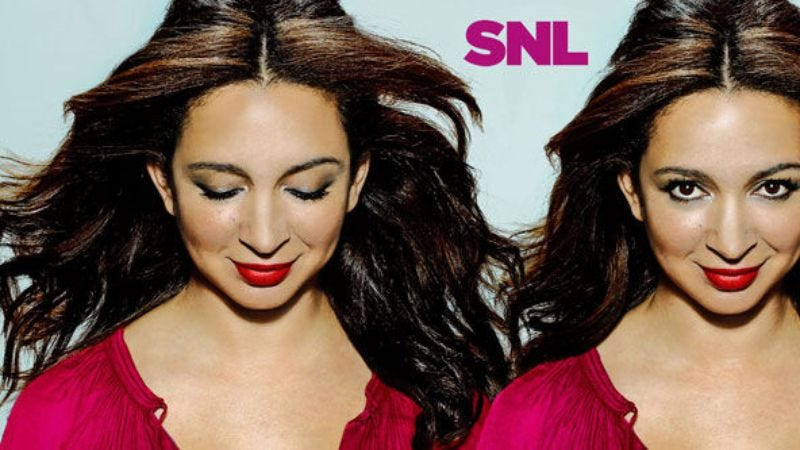 """Illustration for article titled Saturday Night Live: """"Maya Rudolph/Sleigh Bells"""""""