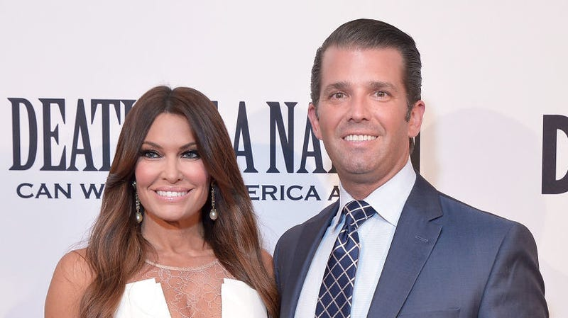 Illustration for article titled Donald Trump Jr. and his new girlfriend have airbrushed their own faces to oblivion