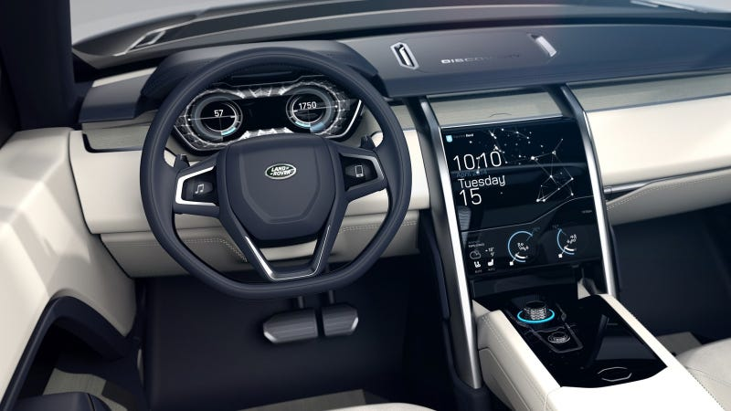 Illustration for article titled Land Rover Discovery Sport Interior Looks Nothing Like The Concept