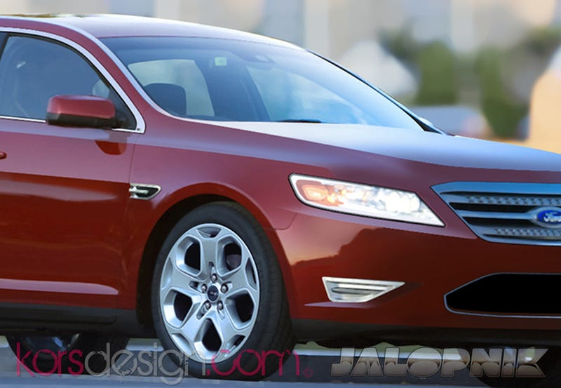 Illustration for article titled 2010 Ford Taurus