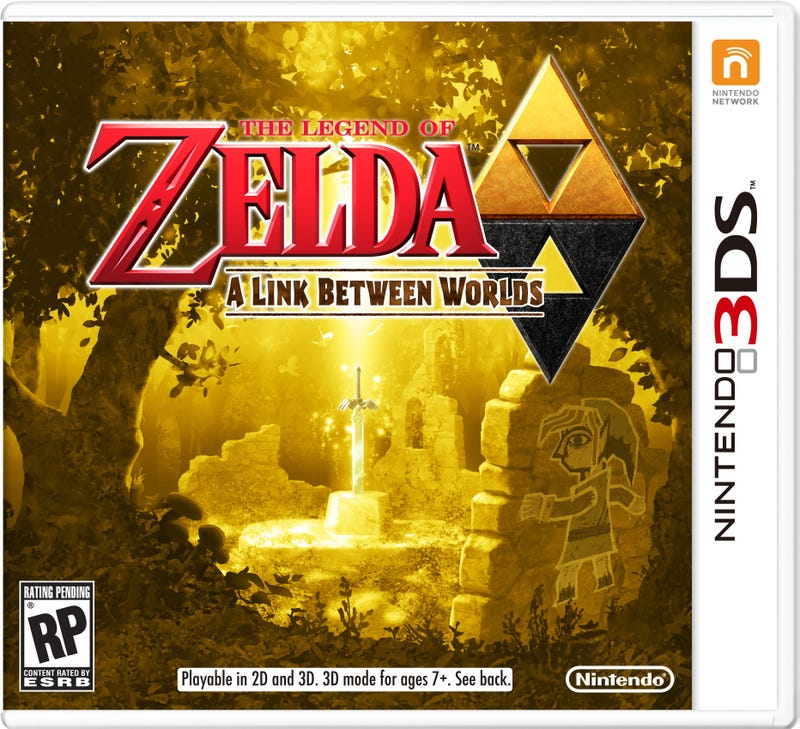 Illustration for article titled New Zelda For 3DS Gets Handsome Boxart With Intriguing Icon