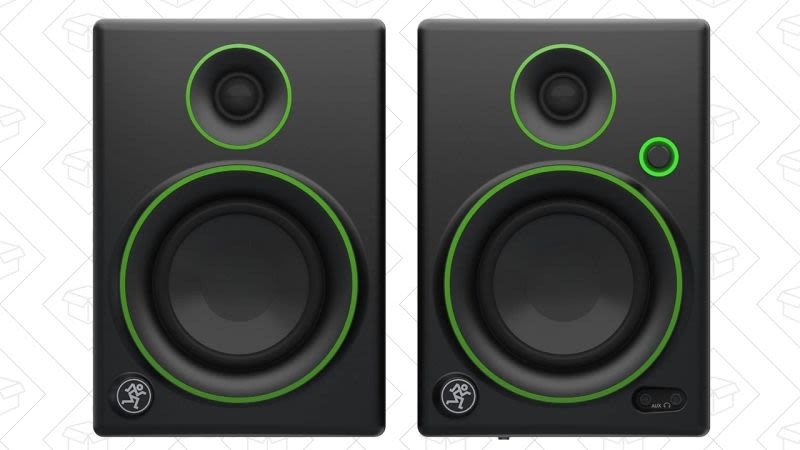 Monitores de audio Mackie CR3 3'', $69 con el código OCTOBER17
