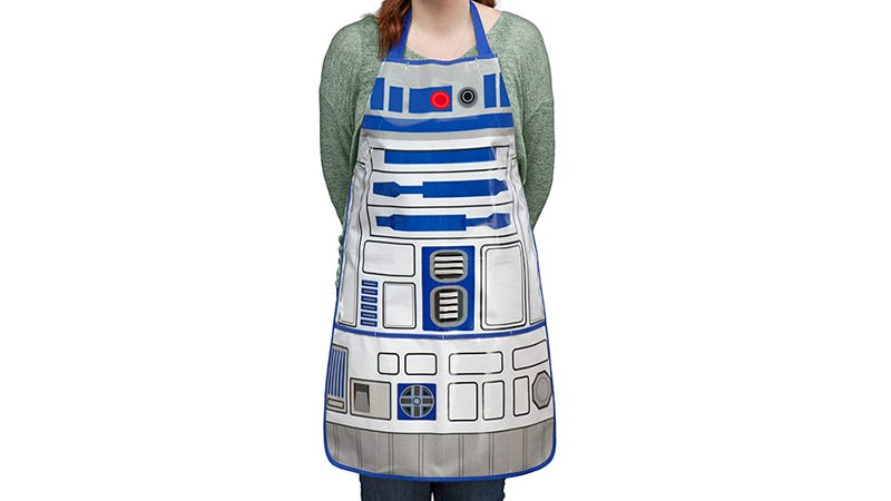 Illustration for article titled An R2-D2 BBQ Apron Really Just Sells Itself