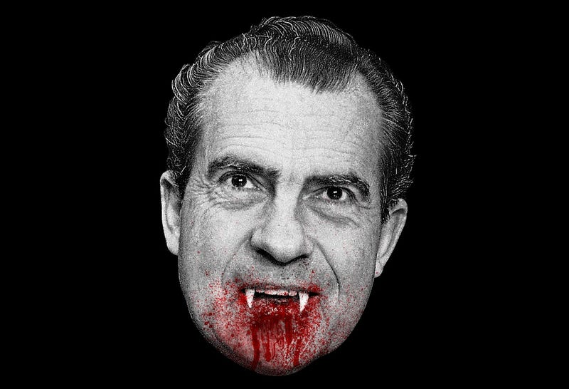 Illustration for article titled The 5 Spookiest Movies That President Nixon Watched in the White House