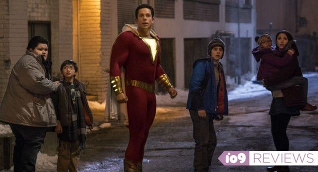 Shazam Is a Good Superhero Movie and a Better Family Drama