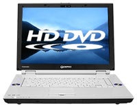 Illustration for article titled Toshiba HD DVD Laptop To Be Sub-$1000 Blu-ray Killer?