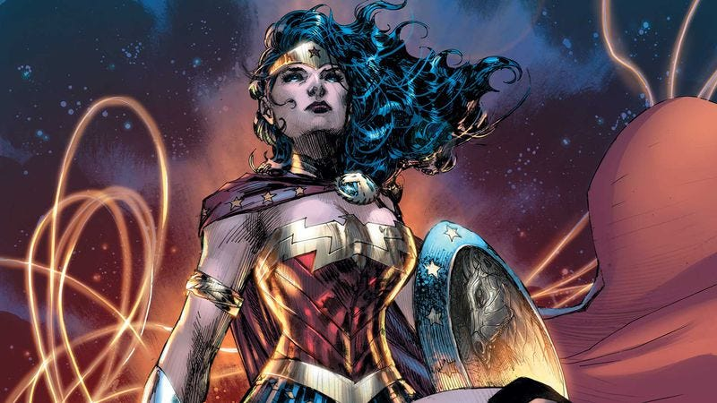 Wonder Woman 75th Anniversary Special (Image: DC Comics)