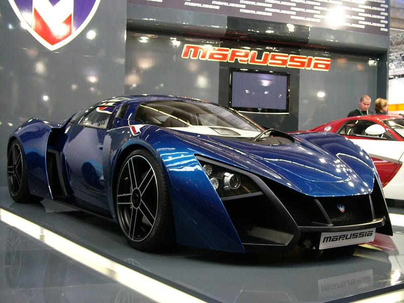 Illustration for article titled Marussia B2: Live Photos
