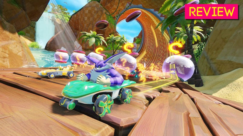Team Sonic Racing: The Kotaku Review
