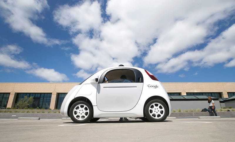Illustration for article titled Google Apparently Wants Its Driverless Electric Cars To Be Cordless, Too